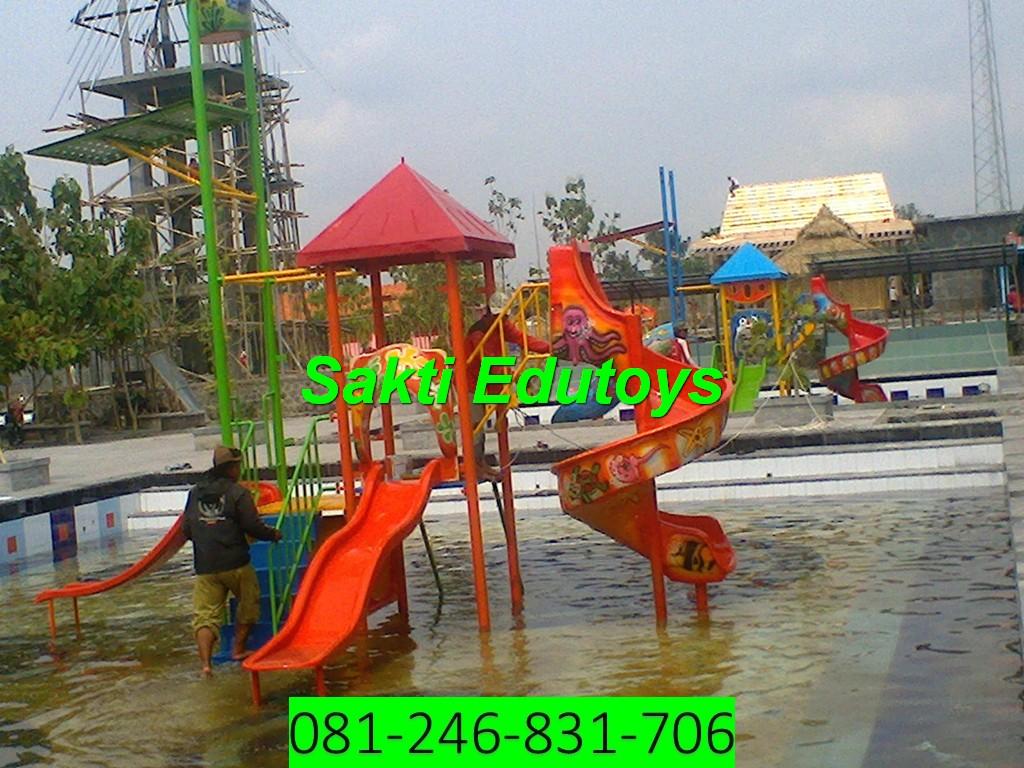jual playground anak Makassar baru