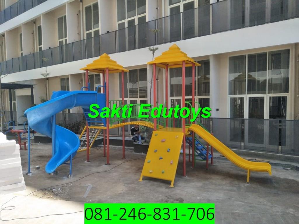 jual playground anak Makassar murah